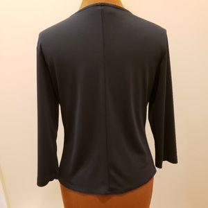 helen wang new york Sweaters - HELEN WANG 3/4 Length Sleeve Cardigan